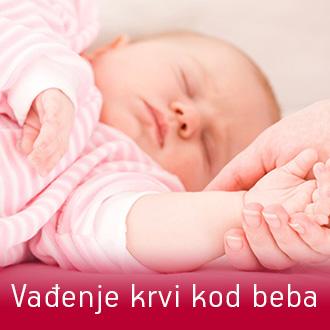 Analiza Lab - vađenje krvi u beba