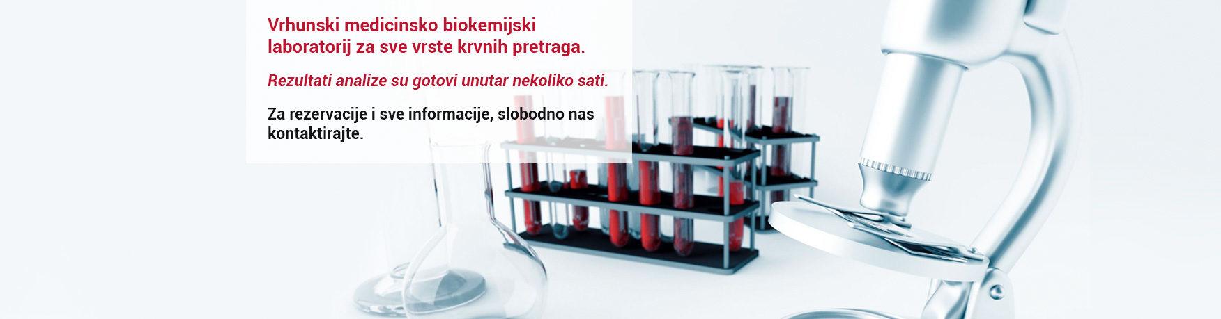 Vrhunski medicinsko biokemijski laboratorij