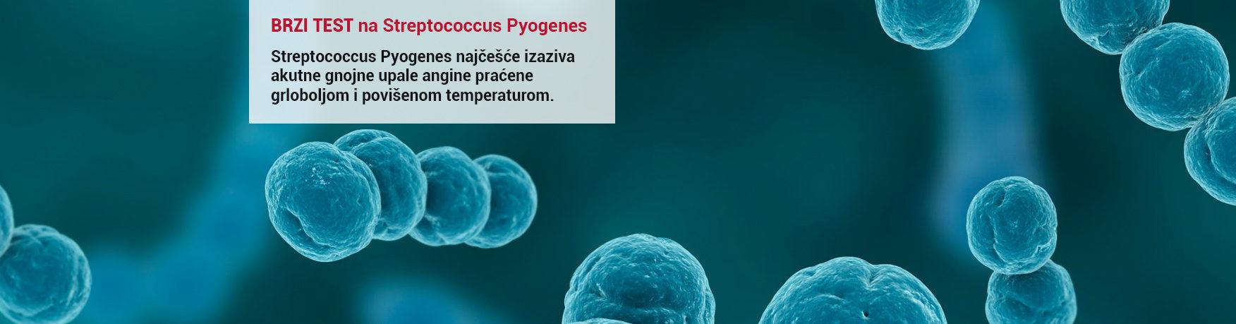 Brzi test na Streptococcus Pyogenes